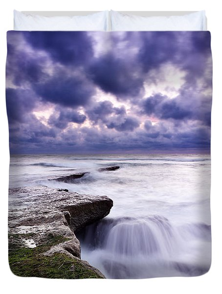 Rough Sea Duvet Cover by Jorge Maia