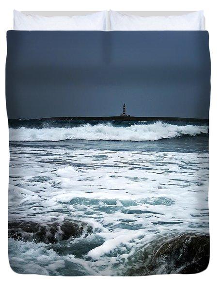 Coastal Storm Duvet Cover