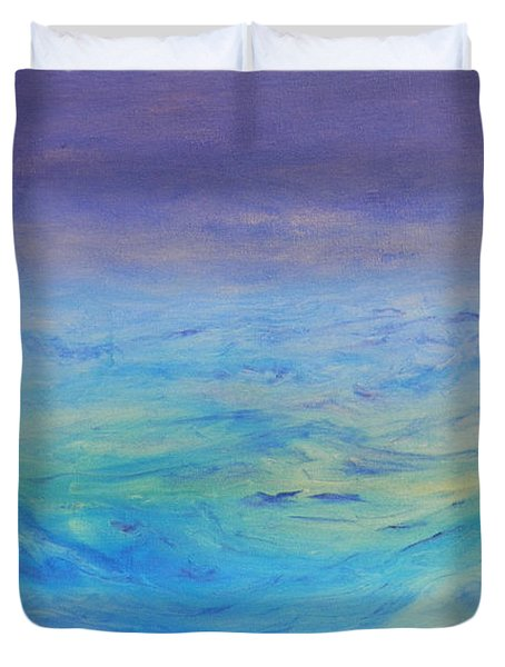 Rough Waters Duvet Cover