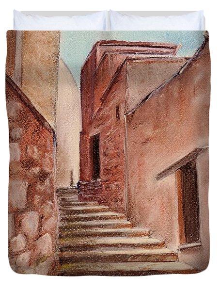 Roussillon Walk Duvet Cover by Anastasiya Malakhova