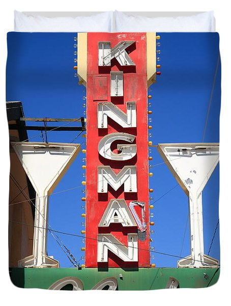 Route 66 - Kingman Club Duvet Cover