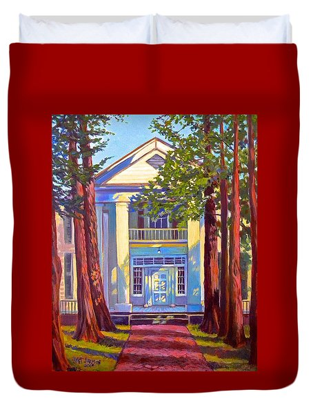 Rowan Oak Duvet Cover by Jeanette Jarmon