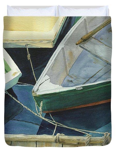 Rowboat Trinity II Duvet Cover