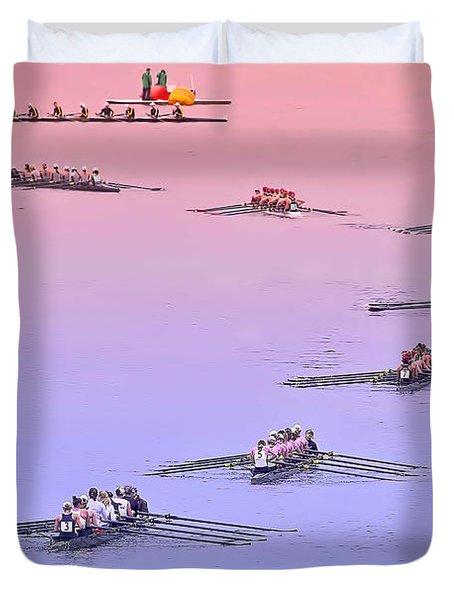 Rowers Arc Duvet Cover