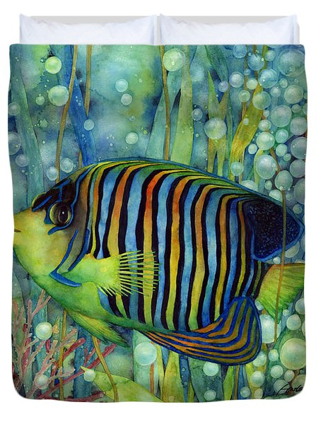 Royal Angelfish Duvet Cover