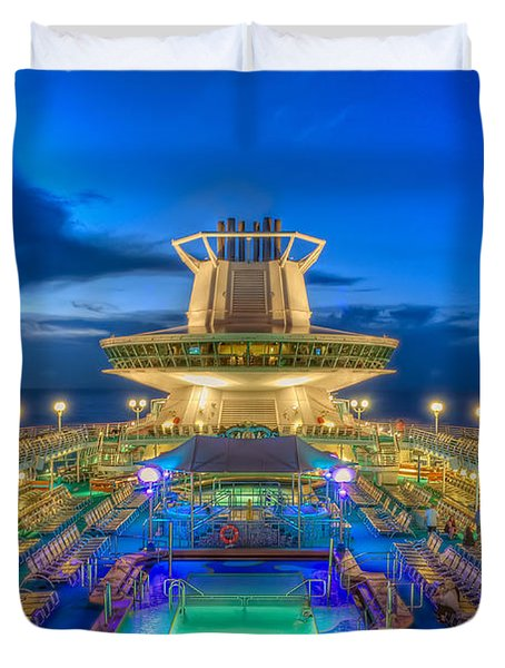 Royal Carribean Cruise Ship  Duvet Cover