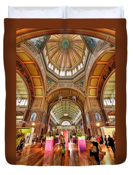 Royal Exhibition Building II Duvet Cover