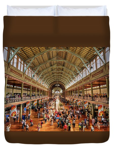 Royal Exhibition Building IIi Duvet Cover