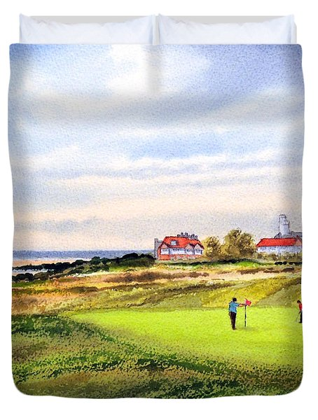 Royal Liverpool Golf Course Hoylake Duvet Cover