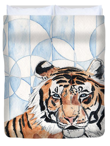 Royal Mysticism  Duvet Cover by Crystal Hubbard
