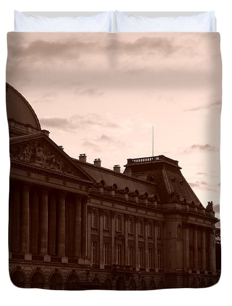 Royal Palace Brussels Duvet Cover