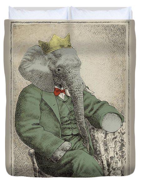Royal Portrait Duvet Cover