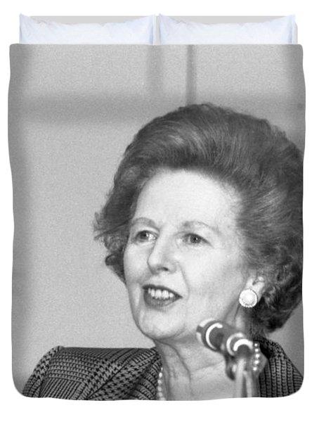 Rt.hon. Margaret Thatcher Duvet Cover