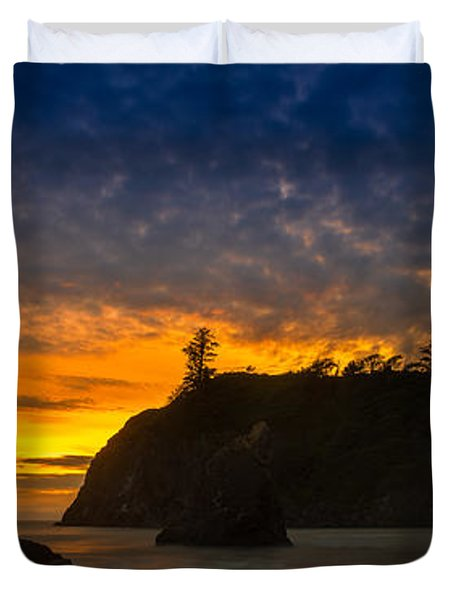 Ruby Beach Olympic National Park Duvet Cover