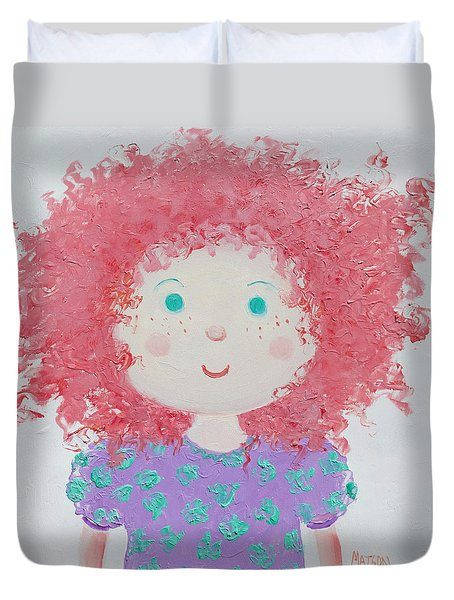 Ruby Duvet Cover