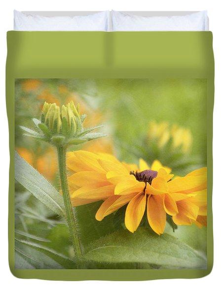 Rudbeckia Flower Duvet Cover