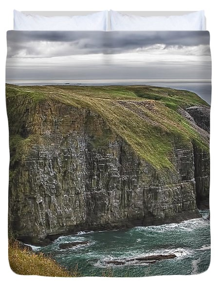Rugged Landscape Duvet Cover by Eunice Gibb