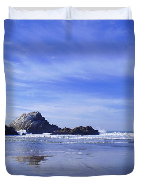 Rugged Reflections Duvet Cover