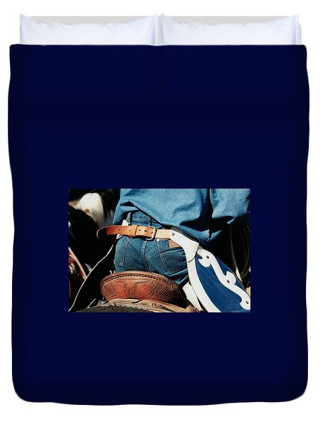 Rugged Wrangler Duvet Cover