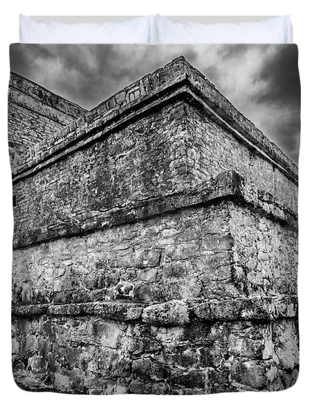 Ruin At Tulum Duvet Cover