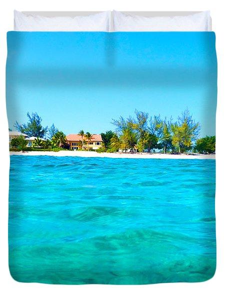 Rum Point Swim Duvet Cover