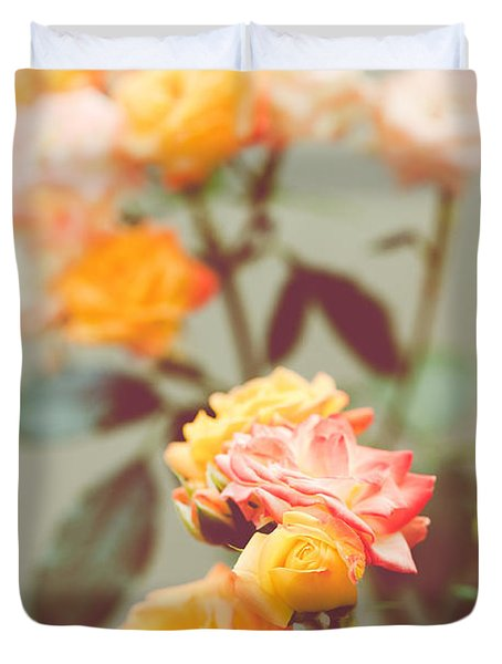 Rumba Rose Duvet Cover