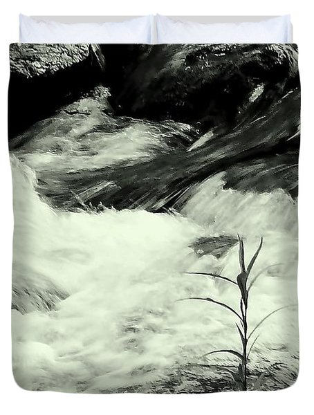 Runneth Over Duvet Cover by Tami Quigley
