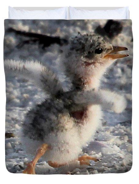 Running Free - Least Tern Duvet Cover