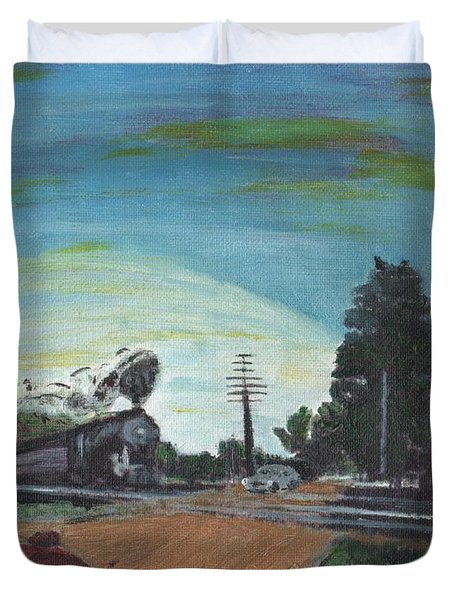 Rural America Duvet Cover