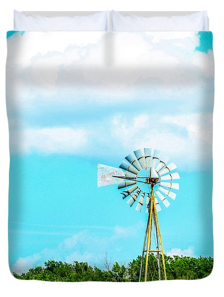 Rural Texas Duvet Cover
