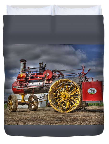 Russell Steam Duvet Cover by Shelly Gunderson