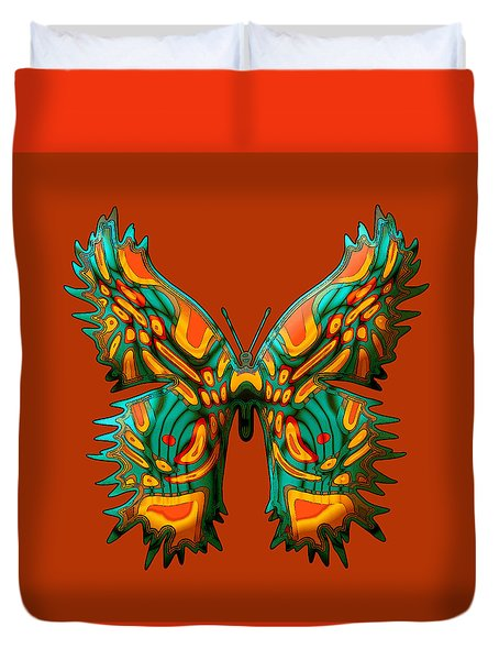 Russetfly Butterfly Duvet Cover
