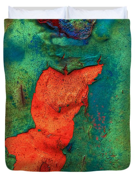 Duvet Cover featuring the photograph Rust Is Beautiful by Jerry Gammon