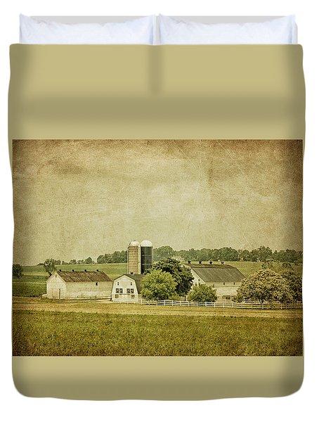 Rustic Farm - Barn Duvet Cover