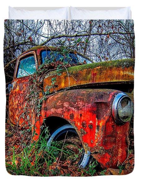 Rusty 1950 Chevrolet Duvet Cover