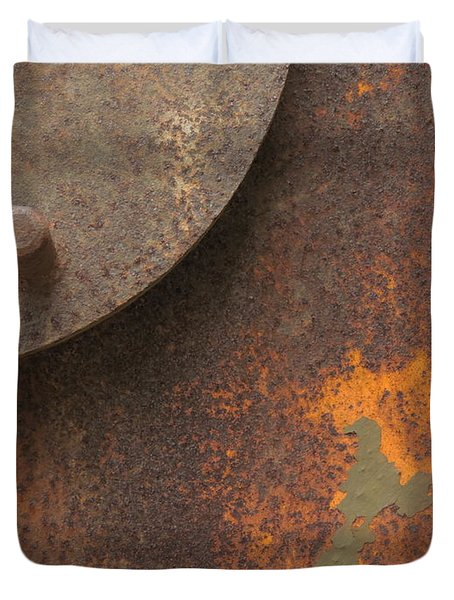 Rusty Abstraction Duvet Cover