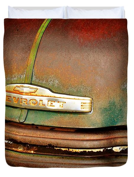 Rusty Gold Duvet Cover by Marty Koch