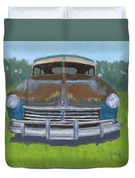 Rusty Hudson Duvet Cover