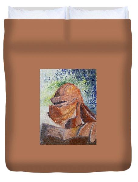 Rusty Duvet Cover