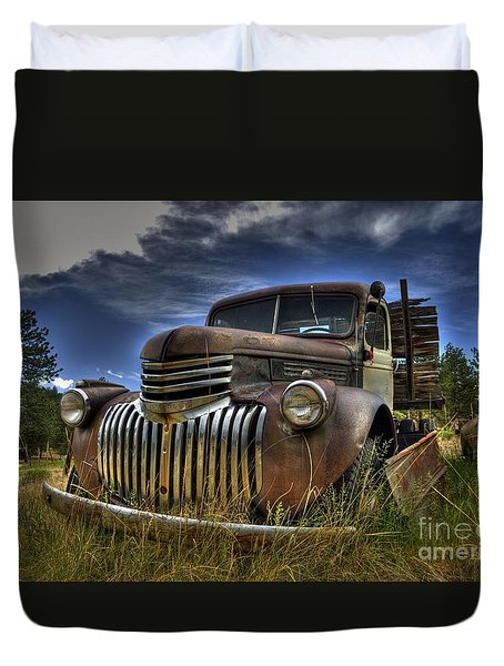 Rusty Relic Duvet Cover