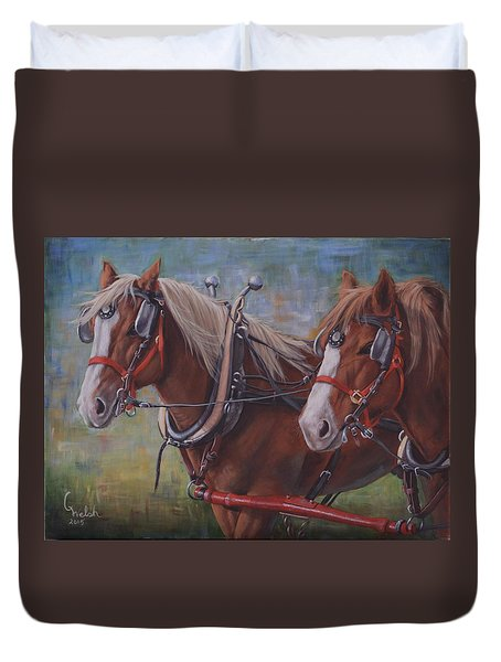 Rye And Whiskey Duvet Cover
