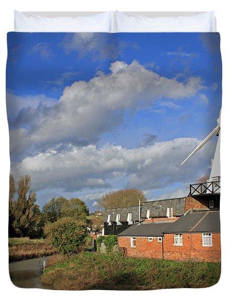 Rye Windmill Duvet Cover