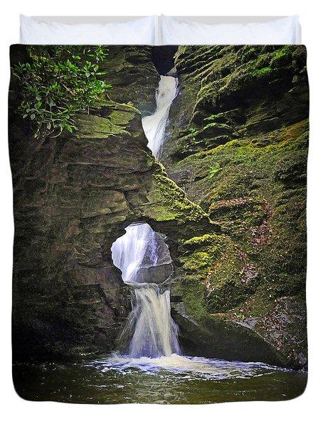 Sacred Falls Duvet Cover