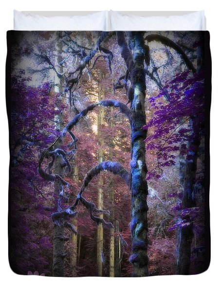 Sacred Forest Duvet Cover