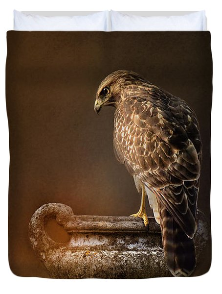 Sacred Moment Duvet Cover by Jai Johnson