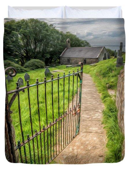 Sacred Path Duvet Cover