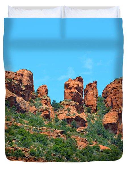 Sacred Sedona Duvet Cover