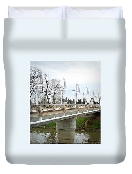 Sactown Water District Duvet Cover