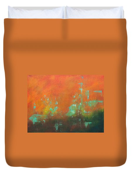 Safe Harbor Duvet Cover by Lee Beuther