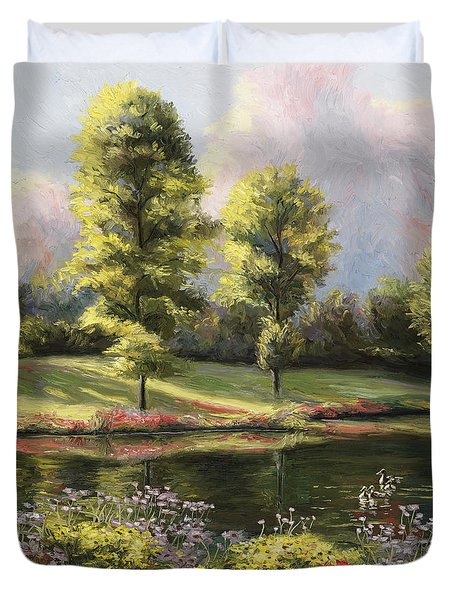 Safe Haven 1 Duvet Cover by Lucie Bilodeau